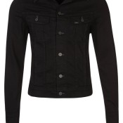 Lee RIDER Jeansjacke clean black